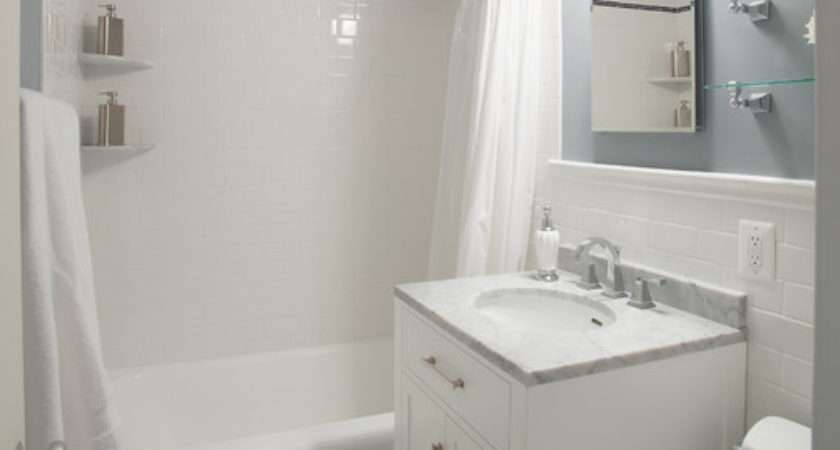 Cleveland Park Small Bathroom Remodel Traditional