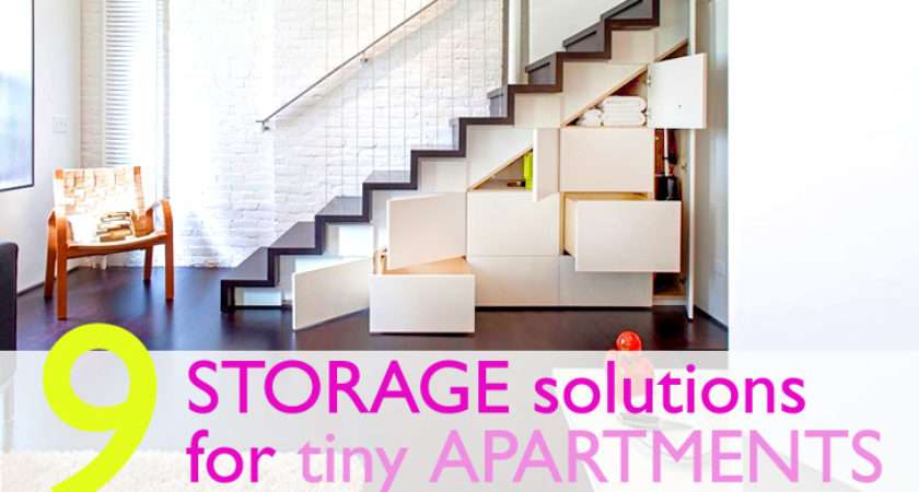 Clever Storage Solutions Small Spaces Inhabitat New York City