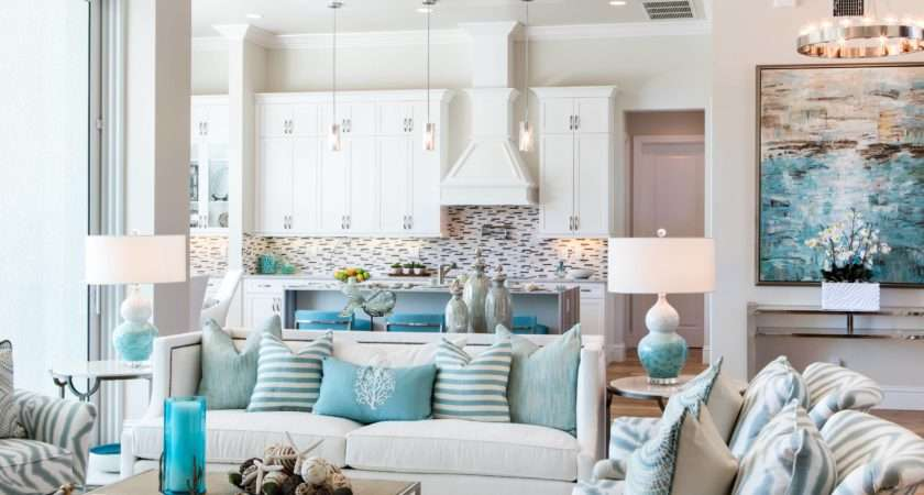 Coastal Decor Ideas Nautical Themed Decorating Photos