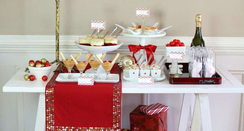 Cocktail Party Table Decorating Ideas Photograph Holiday