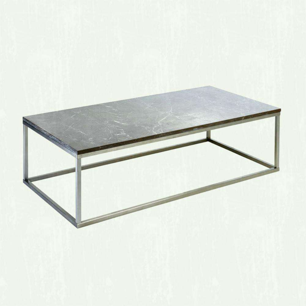 Coffee Table Dwell Glass Top Wood Large