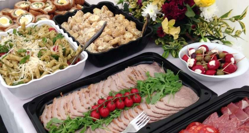 Cold Buffets Party Food Catering Uttoxeter Derbyshire