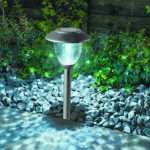 Cole Bright Solar Post Lights Led Pathway Garden Lamps