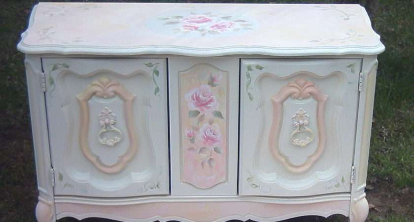 Collage Sheet Girl Paint Shabby Chic Rose Video Lesson