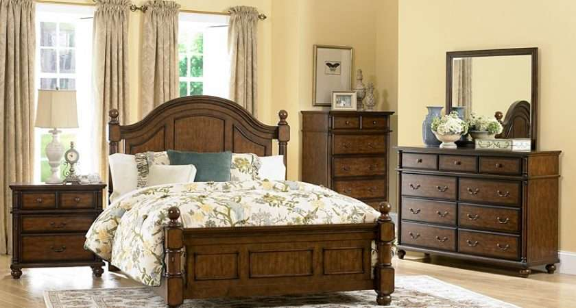 Colony Country Rustic Bedroom Set