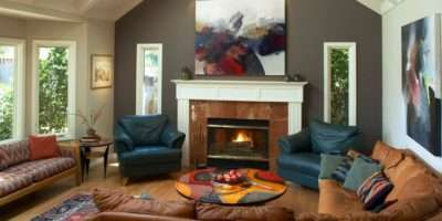 Color Scheme Living Room Ideas High Ceiling Wall
