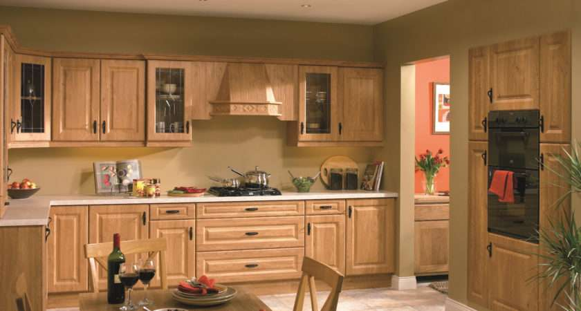 Color Schemes Oak Kitchens Home Combo