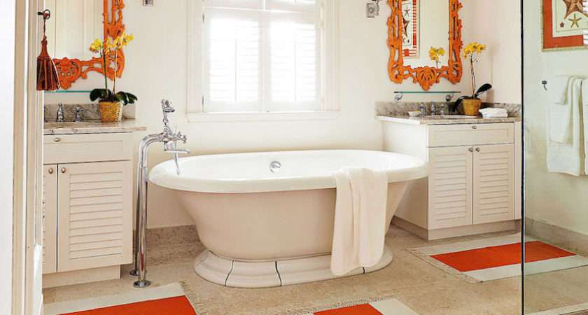Colorful Bathrooms Inspire Weekend