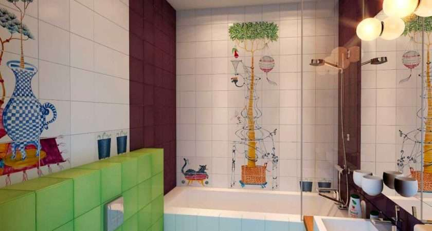 Colorful Kids Bathrooms Allarchitecturedesigns