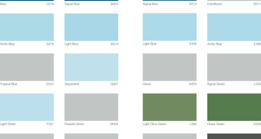 Colour Card International Paint Shc