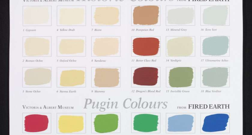 Colour Chart Traditional Paints Lindslay Kathleen