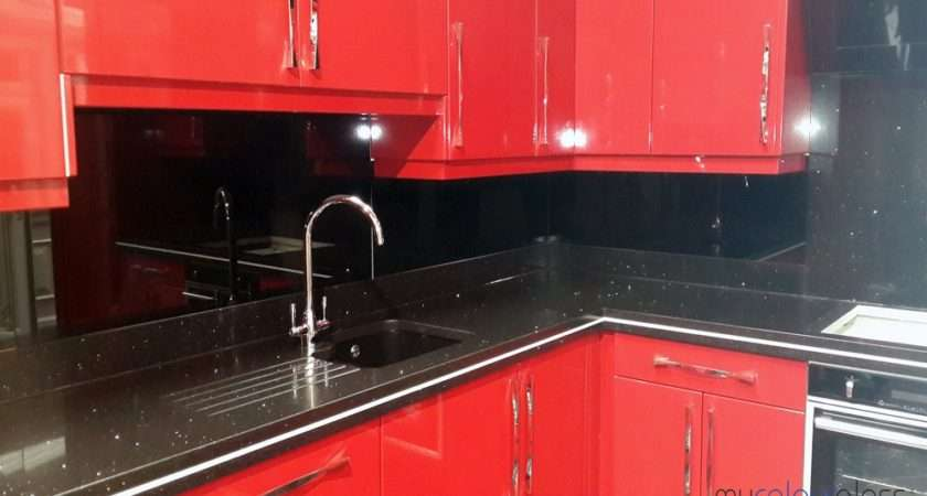 Coloured Glass Splashbacks Ideas Kitchen Mycolourglass