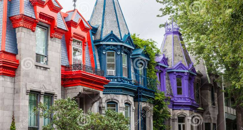 Colourful Buildings Montreal