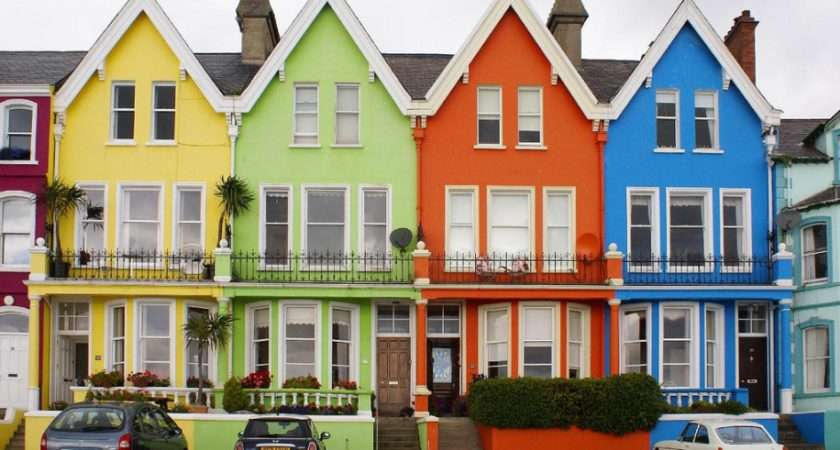 Colourful Houses Decorator Notebook Blog
