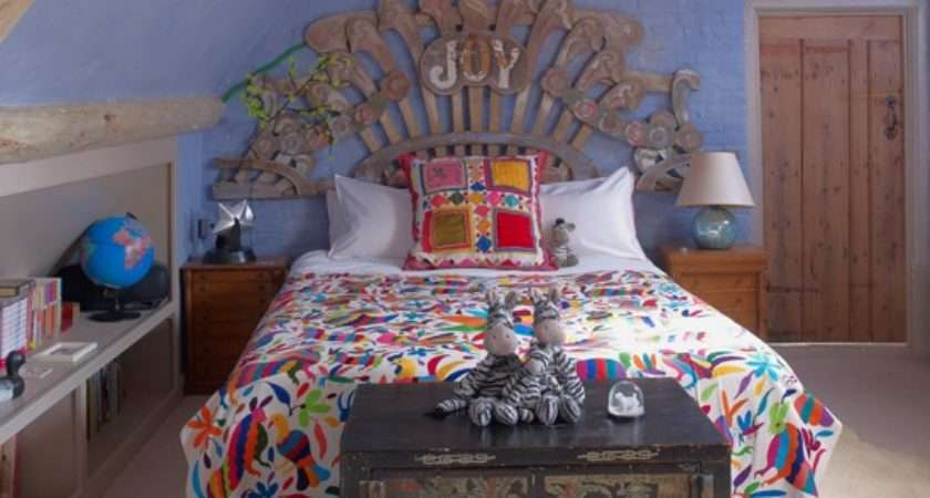 Colourful Quirky Girls Bedroom Housetohome