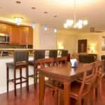 Combining Kitchen Dining Room Spacious Home