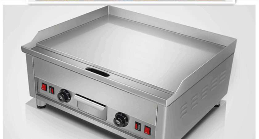 Commercial Electric Grill Griddle Dorayaki