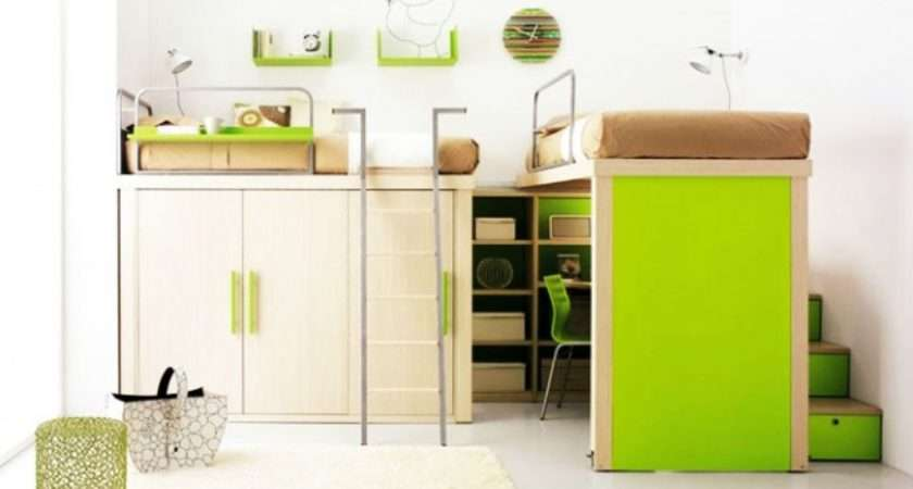 Compact Furniture Small Sized Kids Room Designrulz