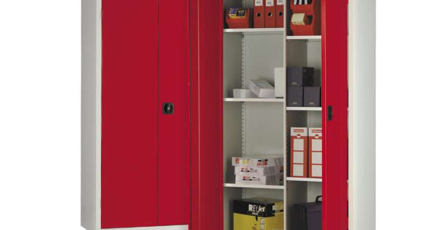 Compartment Stationery Storage Cupboard Welsh Educational