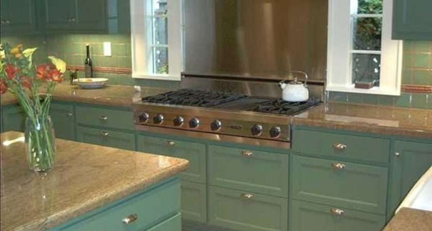 Complete Painted Kitchen Cabinets Modern