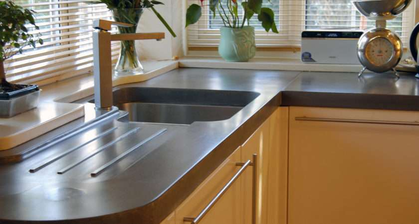 Concrete Worktops Manchester Didsbury Polished