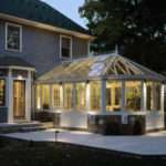 Conservatory Needham November Lux Lighting Design