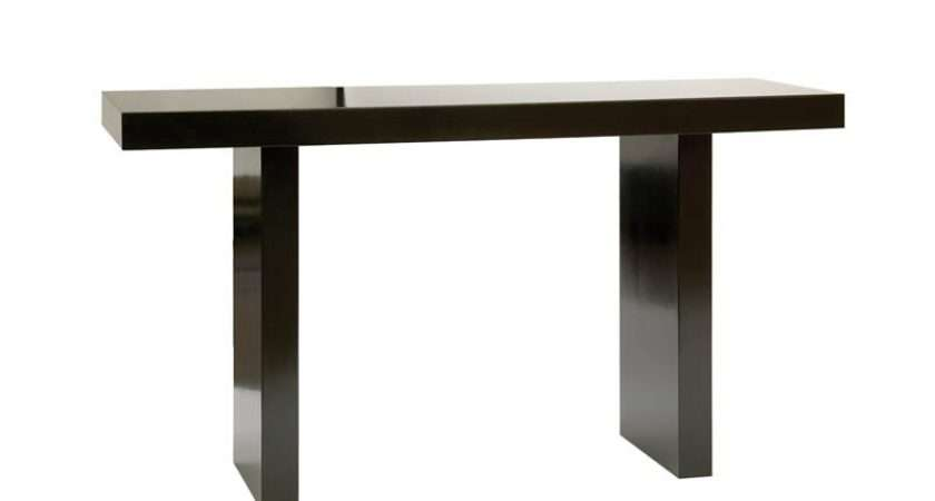 Console Table Black Gloss