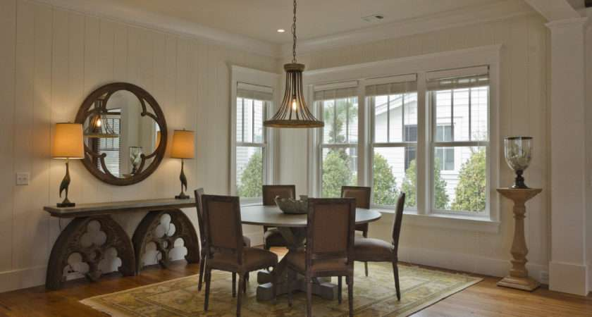 Console Table Decorating Ideas Dining Room Rustic Design
