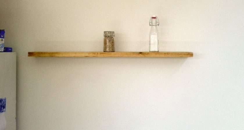 Construction Detail Floating Wall Wood Shelves Great