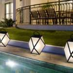 Contardi Muse Battery Powered Outdoor Lamp Garden
