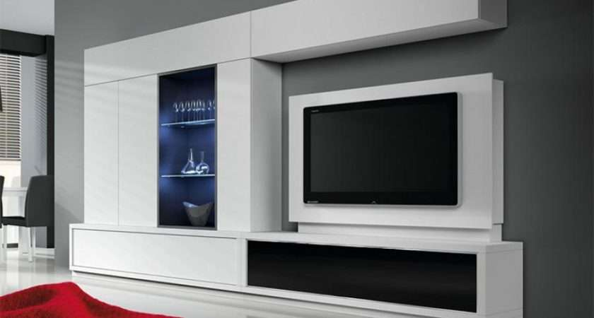 Contemporary Baixmoduls Living Room Wall Storage System