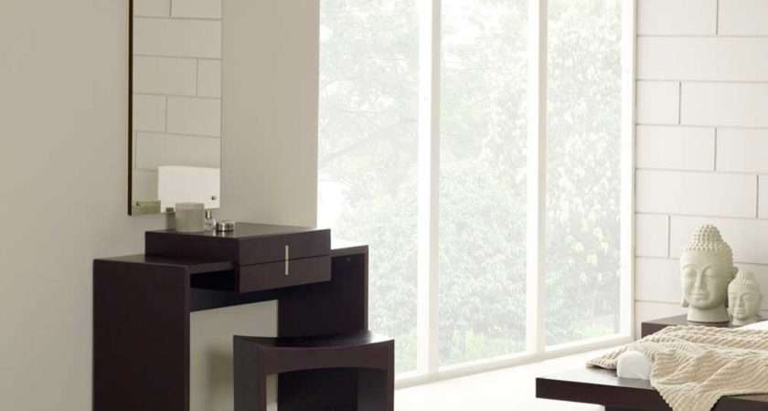 Contemporary Bedroom Furniture Dressing Table Mirror