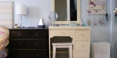 Contemporary Bedroom Vanity Mirror Superb Decorating