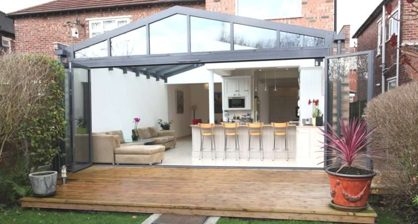 Contemporary Conservatory Ideas Open Plan Extension Home