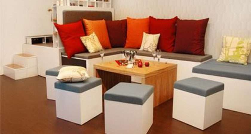 Contemporary Furniture Small Spaces Sitting