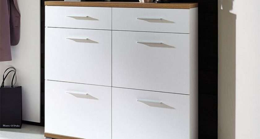 Contemporary Germania Top Shoe Cabinet Drawers