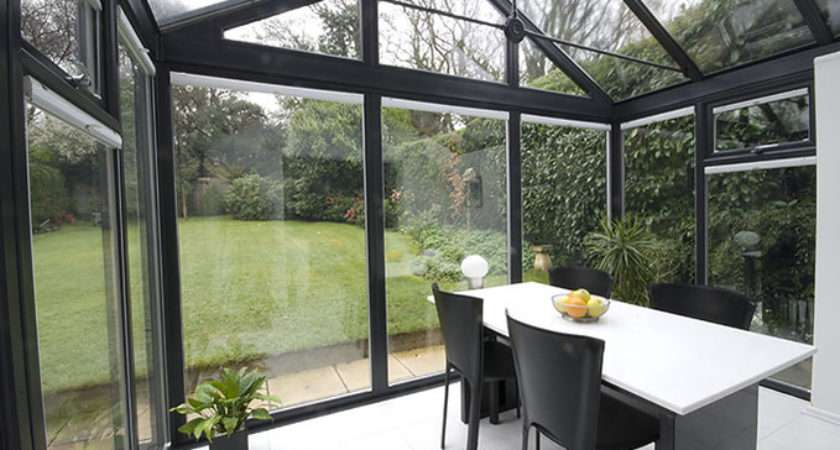 Contemporary Grey Conservatory Bjh