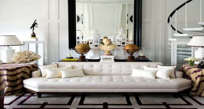 Contemporary Living Room Furniture Less House All