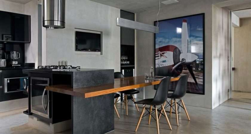 Contemporary Loft Finds Perfect Balance Between Cool