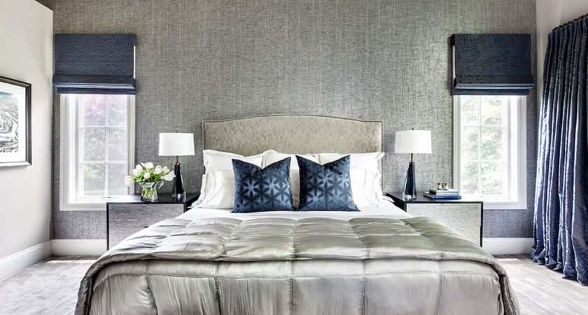 Contemporary Master Bedroom High Ceiling Claire