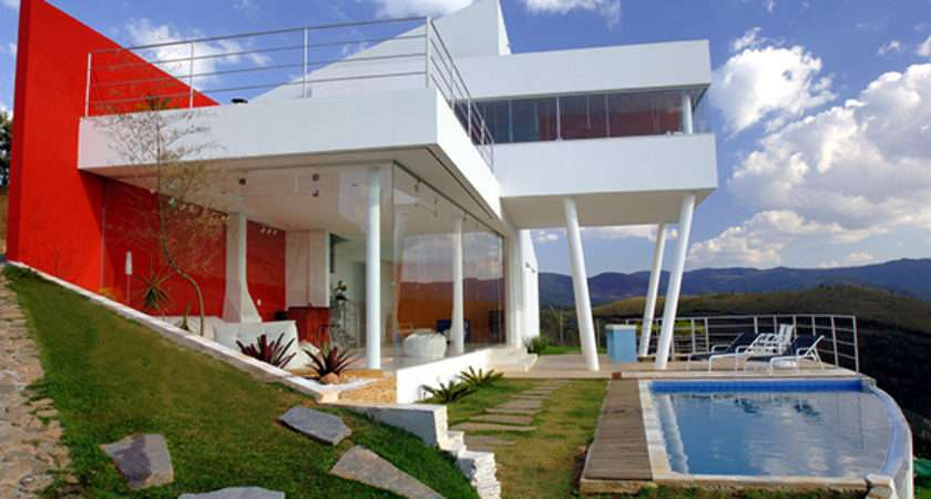 Contemporary Mountain Home Brazil Architect Ulisses
