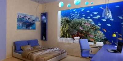 Contemporary Wall Murals Bedroom Interior Decorating Ideas Best