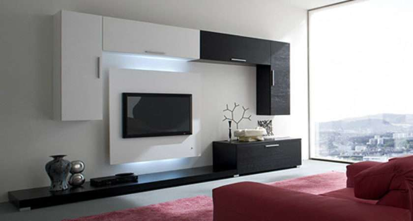 Contemporary Wall Units Fabulous Ideas Designs Best