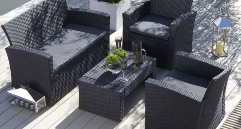 Continue Shopping Blooma Gotland Wicker Coffee Table Sofa