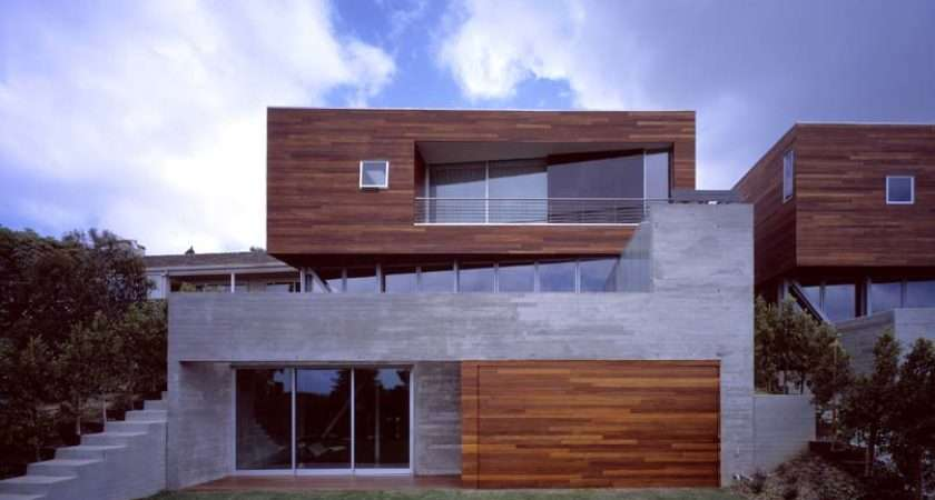 Convertible Adjacent Houses Wood Clad Top Sebastian Mariscal