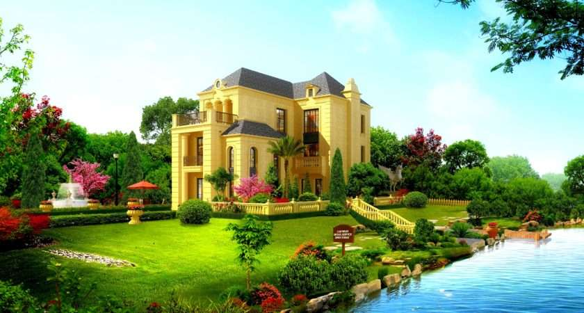 Cool Beautiful House Design Dreamlovewallpapers