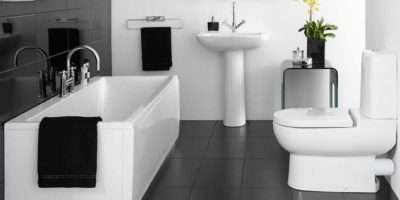 Cool Black White Bathroom Decor Your Home