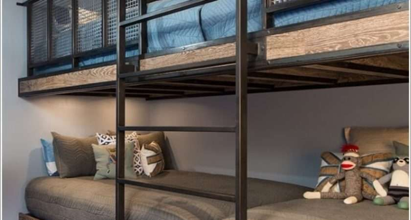 Cool Built Bunk Bed Rail Ideas