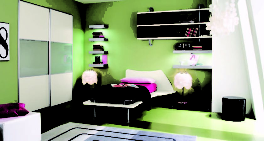 Cool Fresh Colored Bedrooms Core Architect
