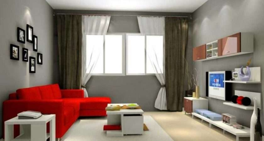 Cool Gray Living Room Color Ideas White Brown Window Curtains